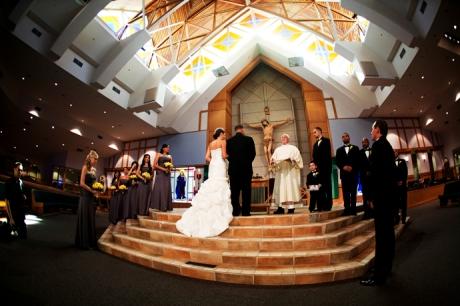 Saint Paul the Apostle Church Wedding