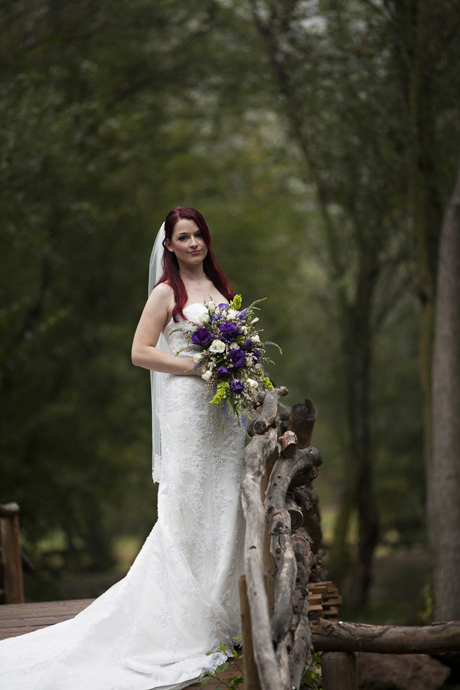 Bride at Calamigos Ranch