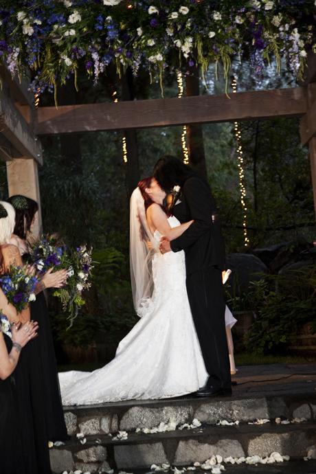 Wedding Ceremony at Calamigos Ranch