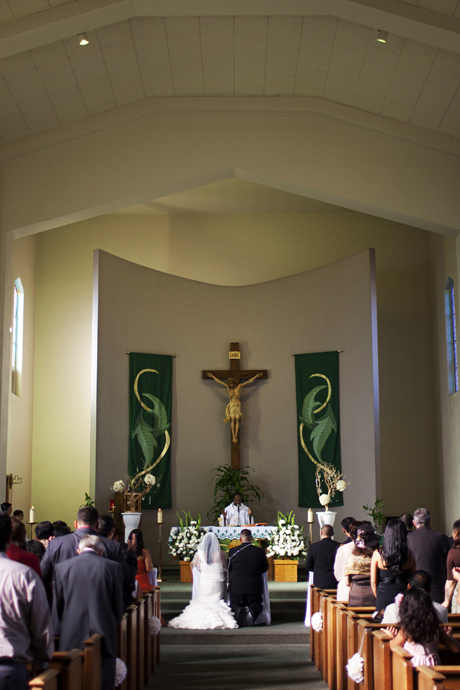 Saint Bernard's Catholic Wedding Ceremony