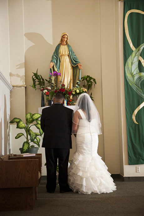 Catholic Wedding Ceremony in Los Angeles