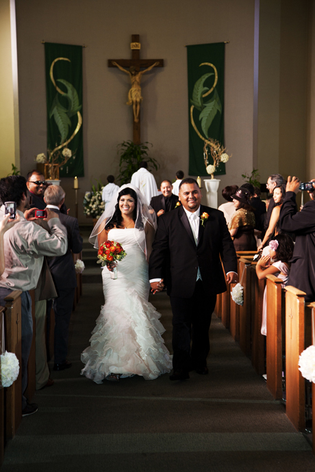 Catholic Wedding Ceremony in Los Angles