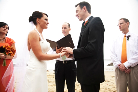 Corona Del Mar Beach Wedding