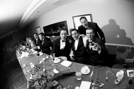 Huntington Beach Hilton Wedding Reception