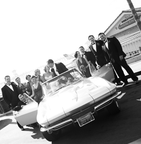 Bridal Party in Huntington Beach