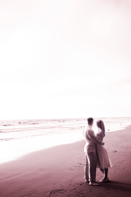 Infrared Engagement Pictures in Manhattan Beach