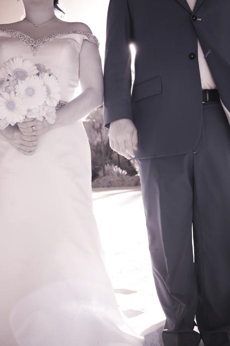 Infrared Wedding Photography at Santa Barbara Courthouse