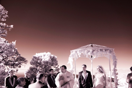 Wedding Pictures in Infrared
