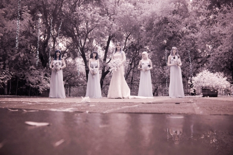Infrared Wedding Pictures at Calamigos Ranch