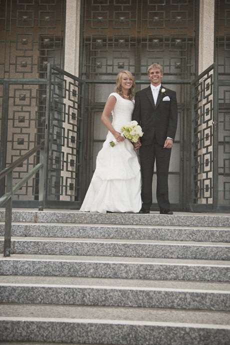 Los Angeles Mormon Temple Wedding