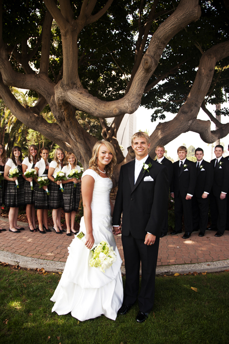 Mormon Temple Los Angeles Wedding Santa Barbara Wedding