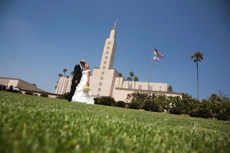 Mormon Temple Los Angeles Wedding