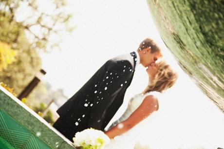 Bride and Groom in Los Angeles 2010