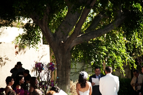 Los Angeles River Center and Gardens Wedding Ceremony