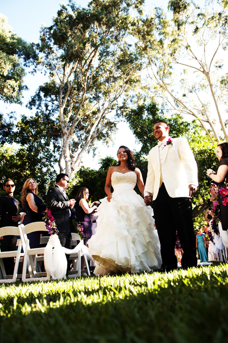 Los Angeles River Gardens Wedding Ceremony