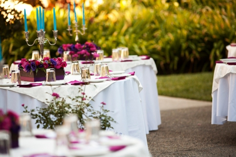 Los Angeles River Gardens Wedding Reception