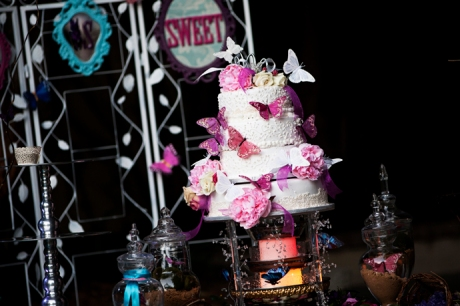 Wedding Cake at Los Angeles River Gardens