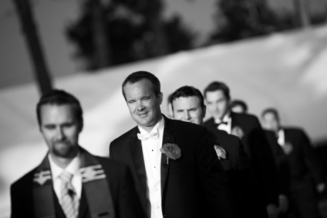 Waterfront Hilton Wedding Ceremony
