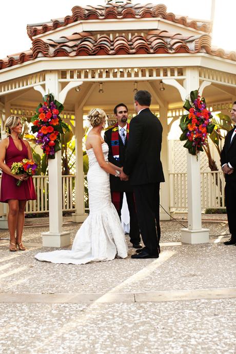 Waterftont Hilton Wedding Ceremony