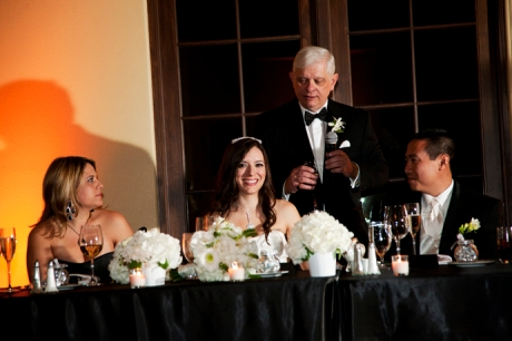 Father of the Bride toast at Aliso Viejo Conference Center