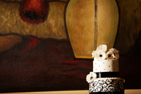 Wedding Cake at Aliso Viejo Conference Center