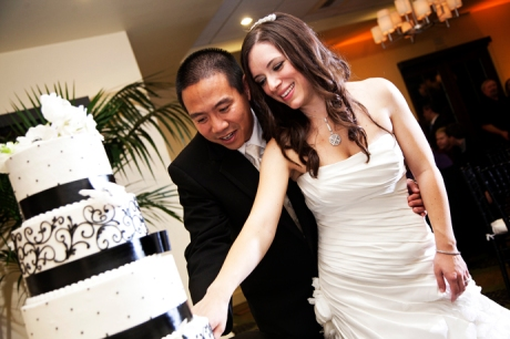 Cake Cutting at Aliso Viejo Conference Center