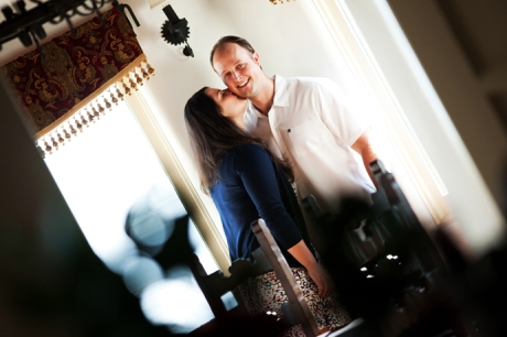 Casa Romantica Engagement Shoot
