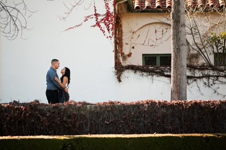 Engagement Pictures at Claremont Colleges