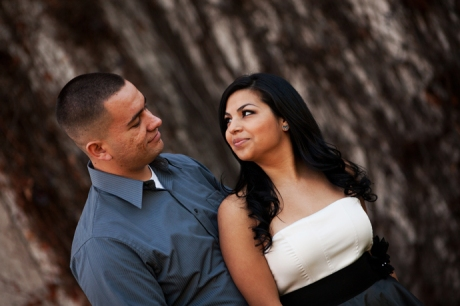 Engagement Photography at Claremont College