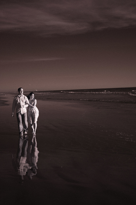 Infrared Engagement Pictures Huntington Beach