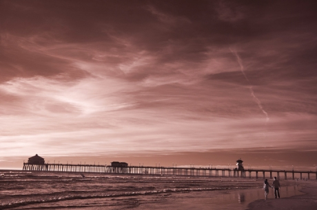 Infrared Enagement Pictures Huntington Beach