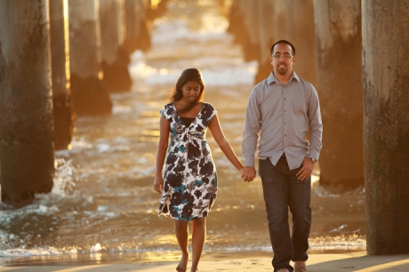 Huntington Beach Engagement Pictures 2011