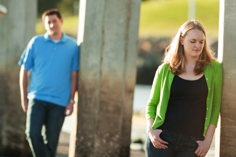 Engagement Pictures at Shoreline Park