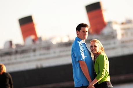 Engagement Pictures at the Queen Mary