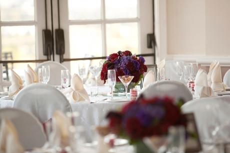 Wedding Details at Summit House Wedding Reception