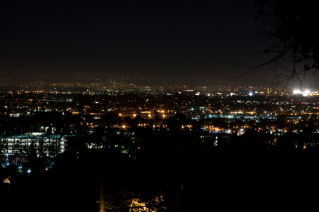 Orange County at Night
