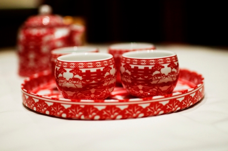 Chinese Tea Ceremony at Huntington Beach Hotel Wedding