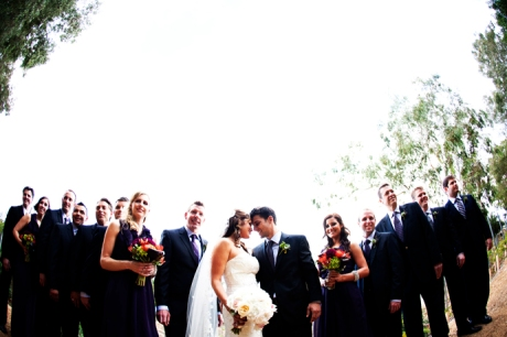 Bridal Party at Lake Oak Meadows Wedding