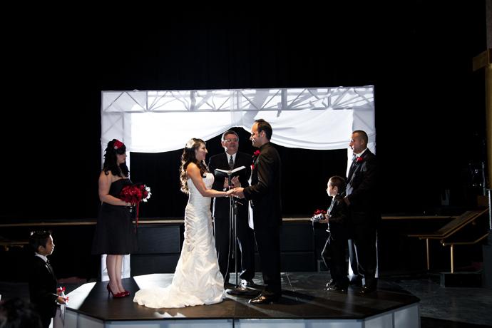 Yost Theater Wedding
