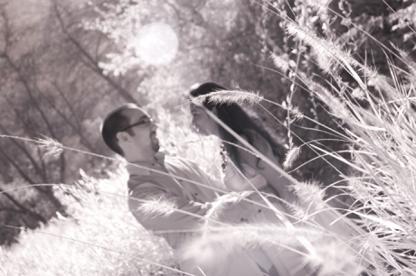 Engagement Pictures Infrared