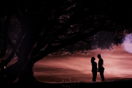 Infrared Engagement Photograhy