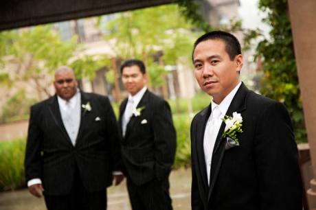 Groom and Groom's Men at Aliso Viejo Conference Center