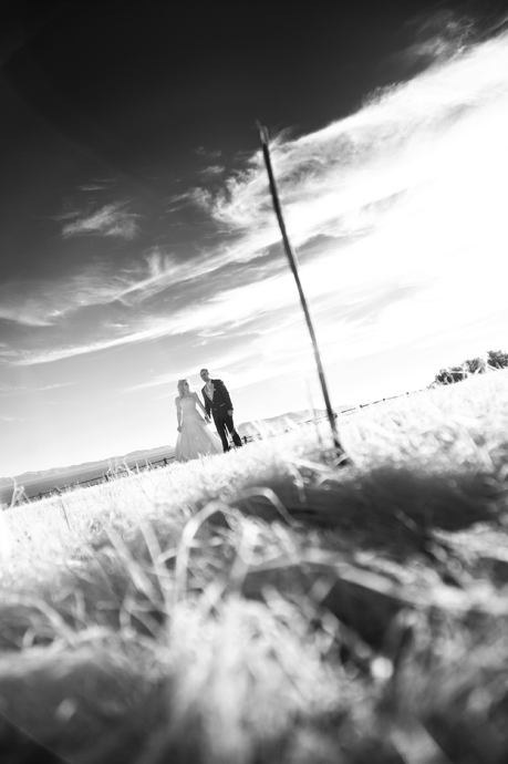 Bride and Groom in Infrared