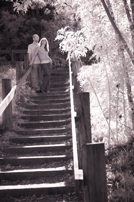 Infrared Engagement Photography