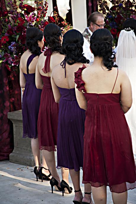 Bride's Maids at Summit House Wedding, 2011