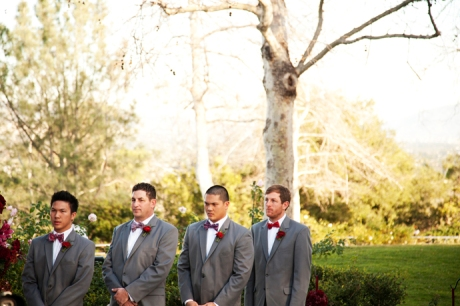 Groom's Men at Summit House Wedding