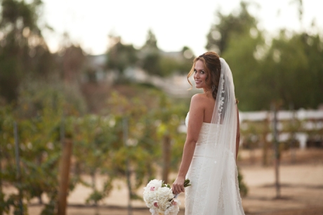 Fall Wedding in Vineyard