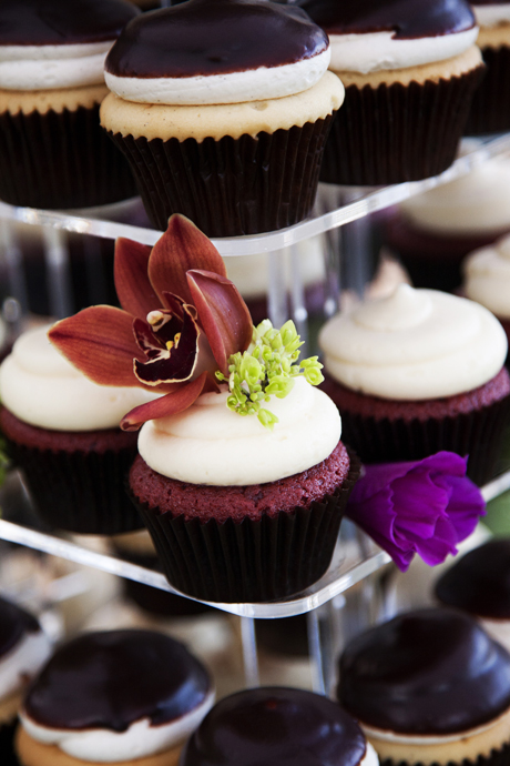 Wedding Cupcakes at Lake Oak Meadows