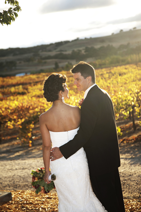 Fall Wedding at Robert Hall Winery