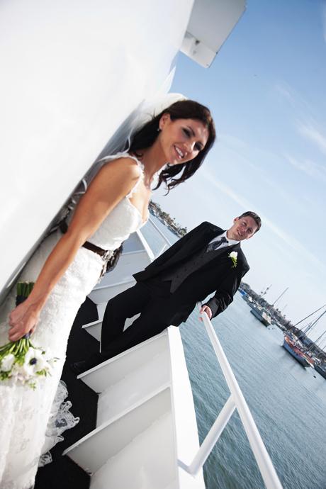 Electra Cruises Yacht Wedding